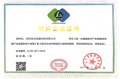 Software enterprise certificate